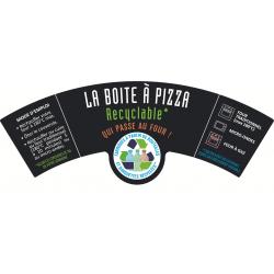 """L'étiquette pizza EVOLVE """"mode d'emploi"""""""