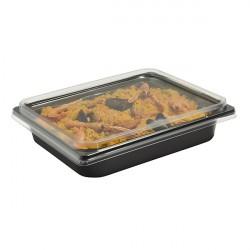Barquette en CPET demi-gastro / four traditionnel et micro-ondes à 220°C